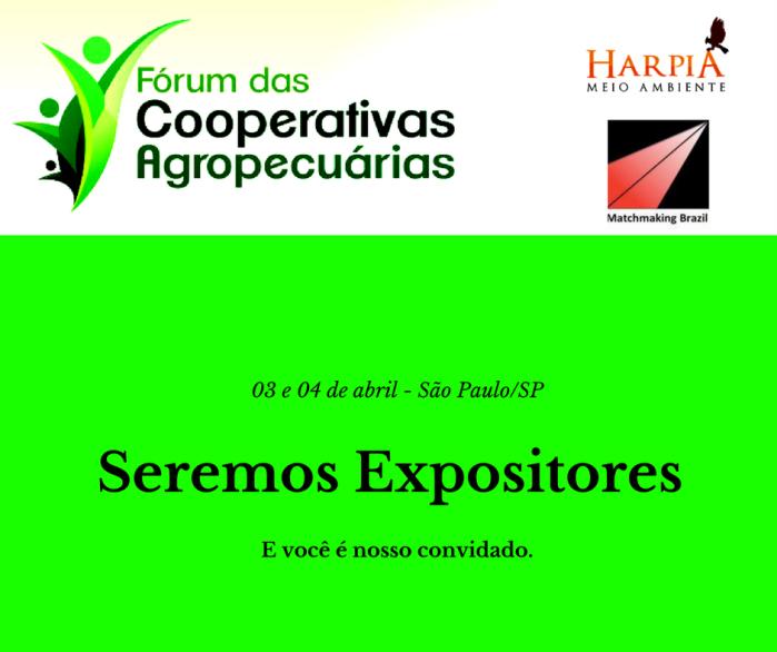 Seremos Expositores_Harpia Meio Ambiente